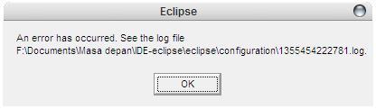 eclipse-errur